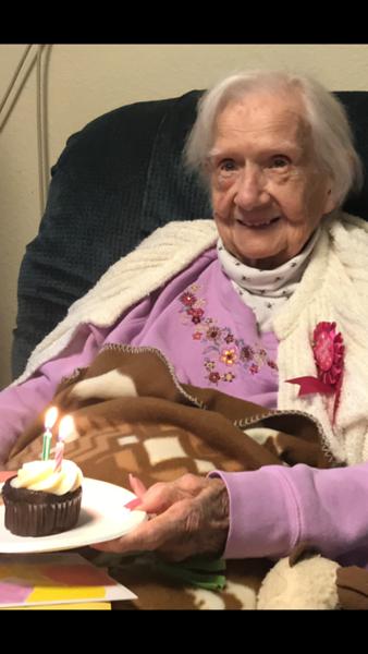 Mom at 96