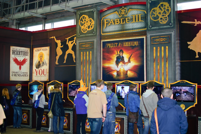 Fable 3 at Igromir 2010