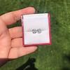 3.48ctw Antique Cushion Cut Diamond Pair GIA J SI1/GIA K SI1 3