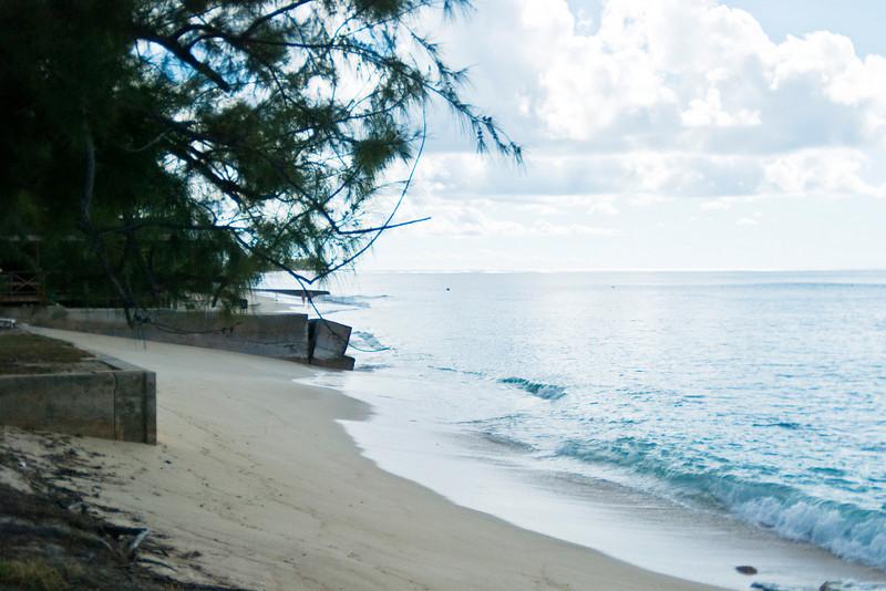 Beach along Front Street, Grand Turk