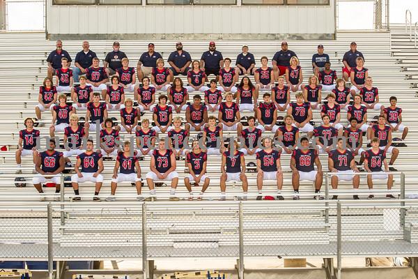 Springville Football Team Pics 2020