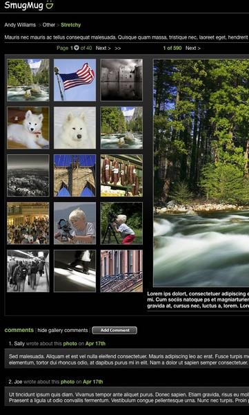New default theme screen shots 2008