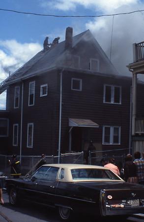 6/12/1979 - SOMERVILLE, MASS - WORKING FIRE 88 ALBION ST