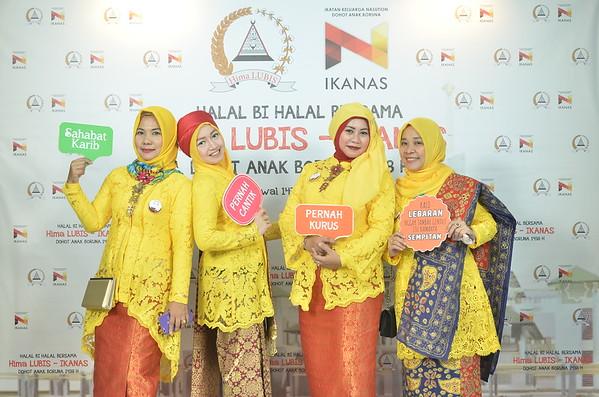 [170723] Halal Bi Halal Hima Lubis-IKANAS DOHOT ANAK BORUNA 1438 H