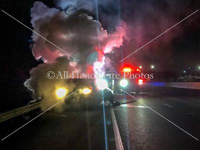 20190116 - City of Lebanon - Vehicle Fire