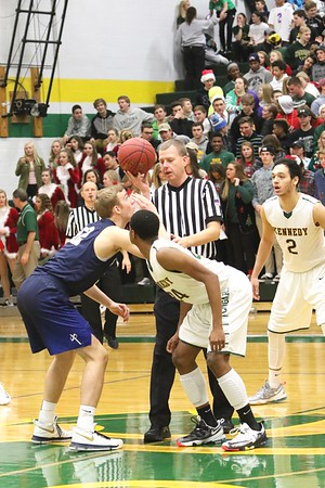Kennedy vs. Xavier Boys' Basketball 12/20/16