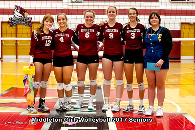 HS Sports - Middleton Girls Volleyball [d] Oct 03, 2017