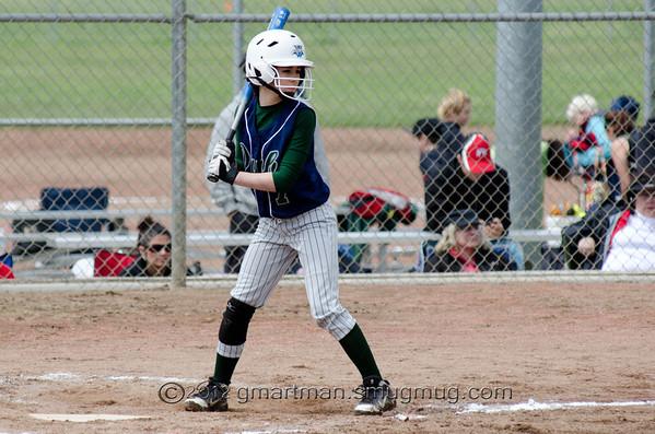 2012 Girls Softball - West Linn-Wilsonville Double Dubs 14U