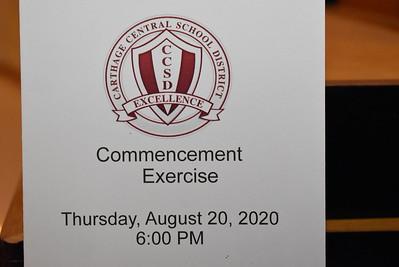 Carthage Summer 2020 Graduation