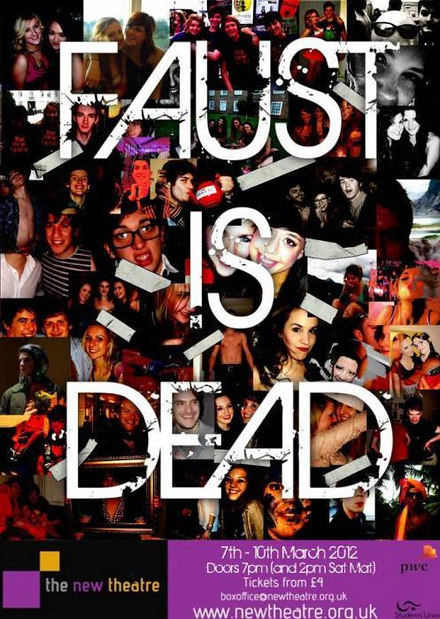 Faust is Dead poster