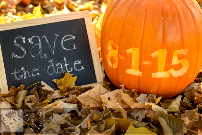 Pumpkin Save the Date