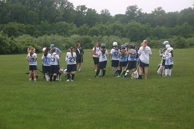 Girls Steps Elite first summer practice