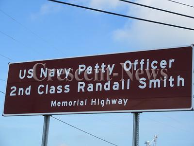 Randall Smith Memorial Sign