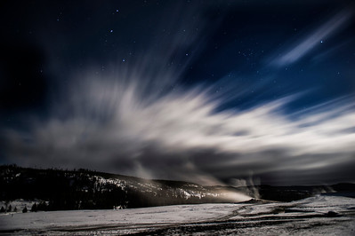 Old Faithful Lodge - Night Photos, Landscapes etc.