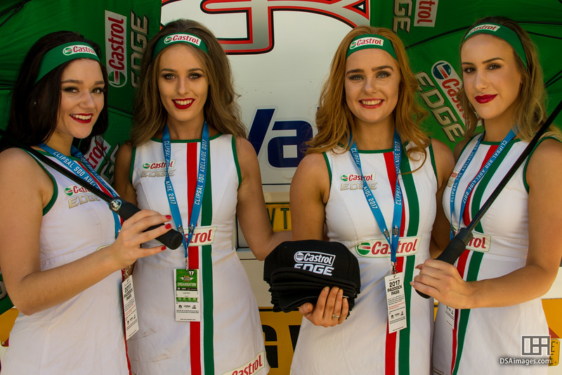 Castrol Edge girls