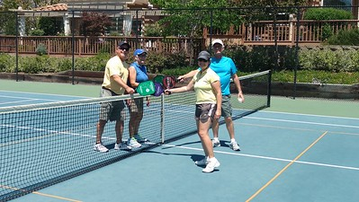 Pickleball Court Play