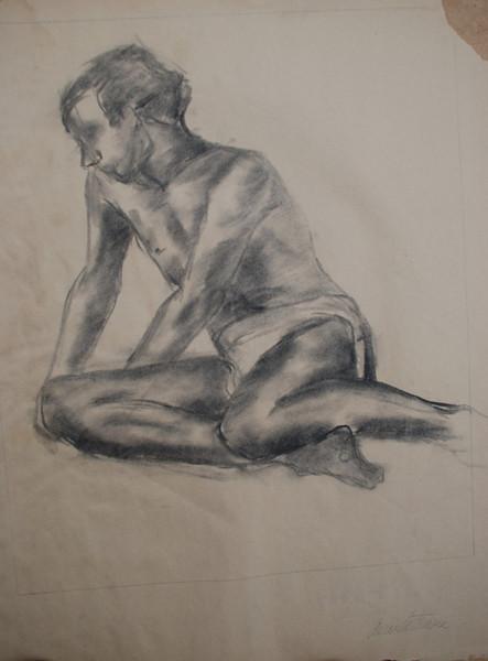 Figure drawing Class at Ringling school of Art 1967