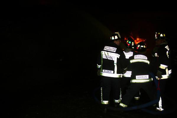 Junk Yard Fire 04-14-2008