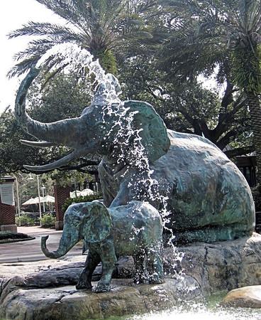 Audubon Statues