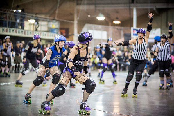 Apple City Roller Derby - Double Header #2