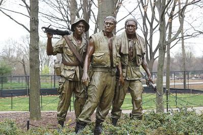 Vietnam Veterans' Memorial area