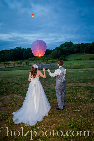 Tyler & Shawn Color Wedding Photos