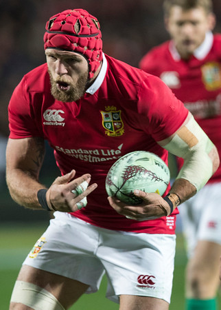 James Haskell during game 6 of the British and Irish Lions 2017 Tour of New Zealand,The match between  The Chiefs and British and Irish Lions, FMG Stadium, Hamilton, Tuesday 20th June 2017 (Photo by Kevin Booth Steve Haag Sports)  Images for social media must have consent from Steve Haag