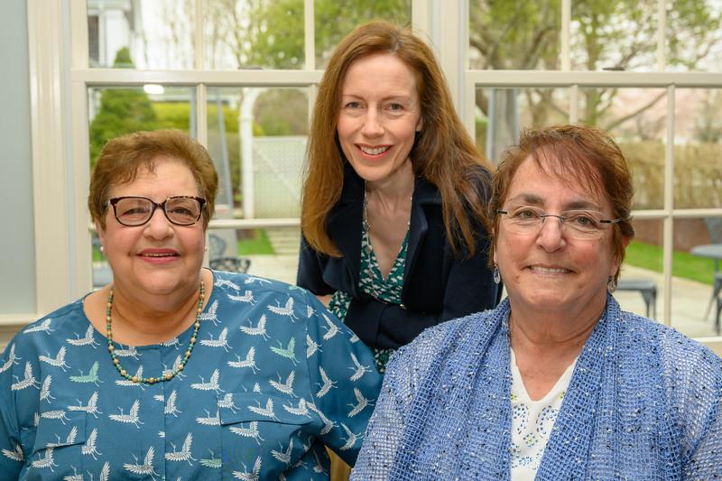 Theresa Boggi, Francoise Surel, Darci Sequin