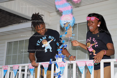 Sabrina and Mack baby gender reveal