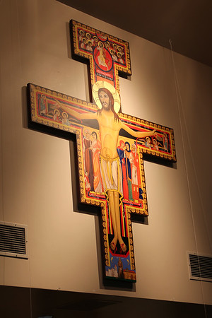08-15-10 Dedication of San Damiano Cross
