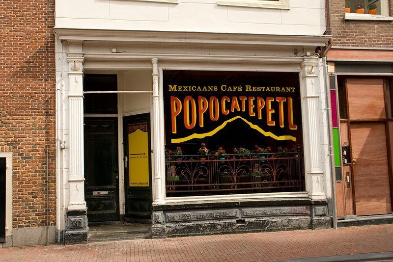 Mexican restaurant in the Netherlands - who knew!