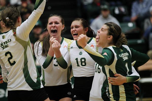 CSU vs. Wyoming Volleyball 2012
