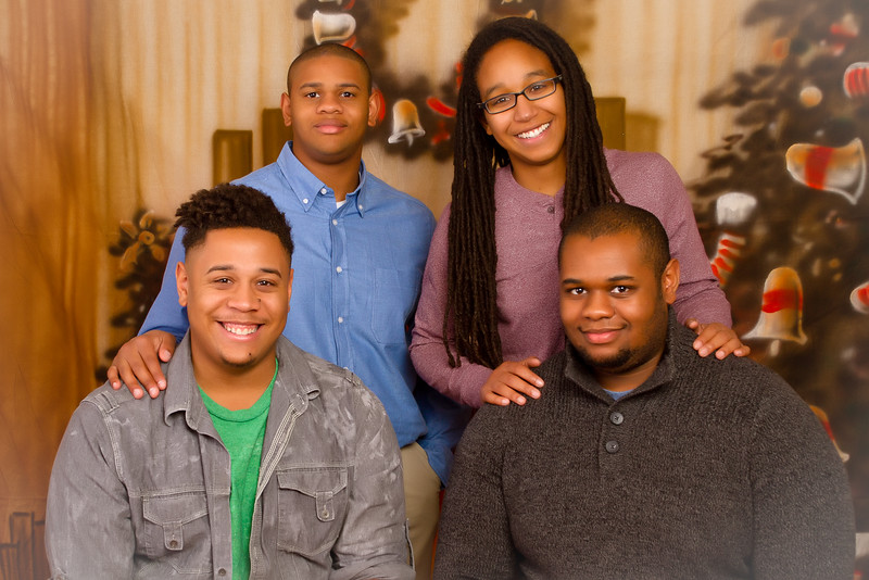 Family 2015 Christmas Portraits