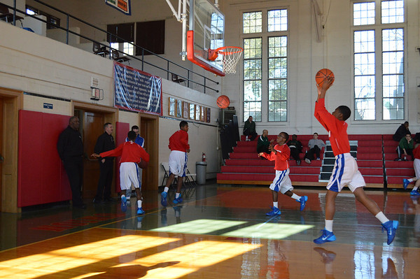 Jr. Prep Basketball vs. Pope John Paul the Great