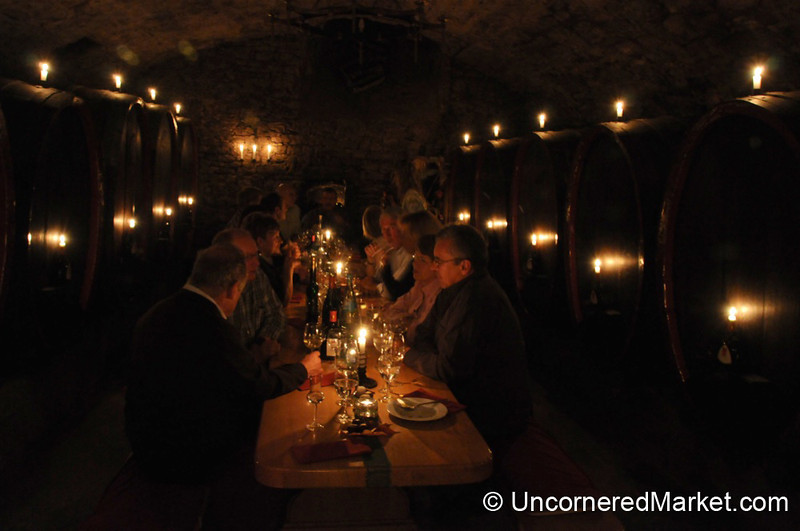 Candlelight Dinner at Bickel-Stumpf Winery - Frickenhausen, Germany
