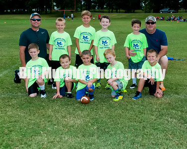 2016 Marshall Co. Safety Green Flag Football Team