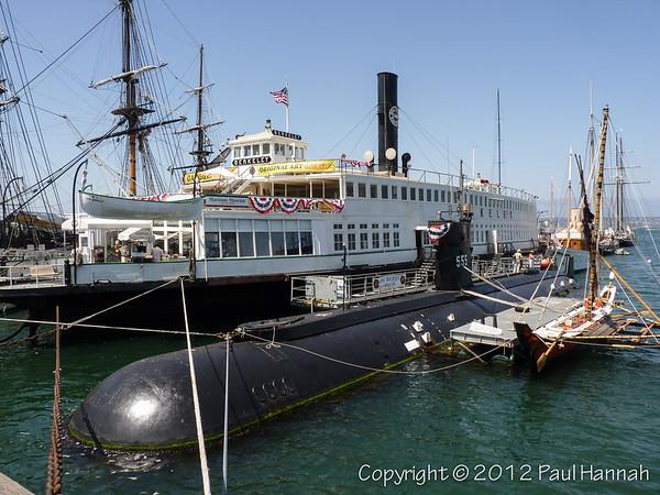 USS Dolphin (AGSS-555) - San Diego, CA