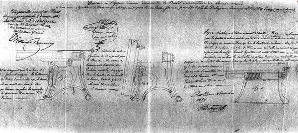 Delvigne Underhammer Patent
