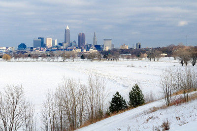Cleveland in the Winter