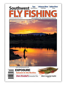 Southwest Flyfishing Nov/Dec 2013 Cover