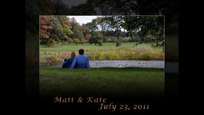 Matt & Kate Slideshow