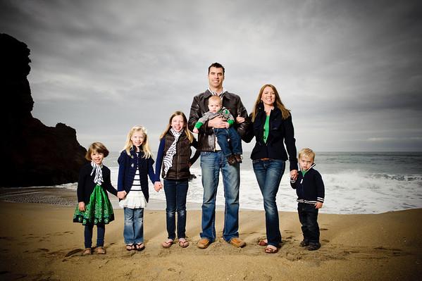 "Adam + Jen = Alysse > Gigi > Noelle > Blake > Weston <br><font size=""-2"">(Family Photography, Panther Beach, Santa Cruz, California)</font>"