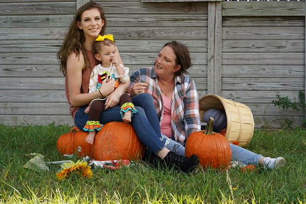 Kallie Family Fall Photo Shoot