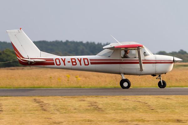 OY-BYD - Reims Cessna F150G