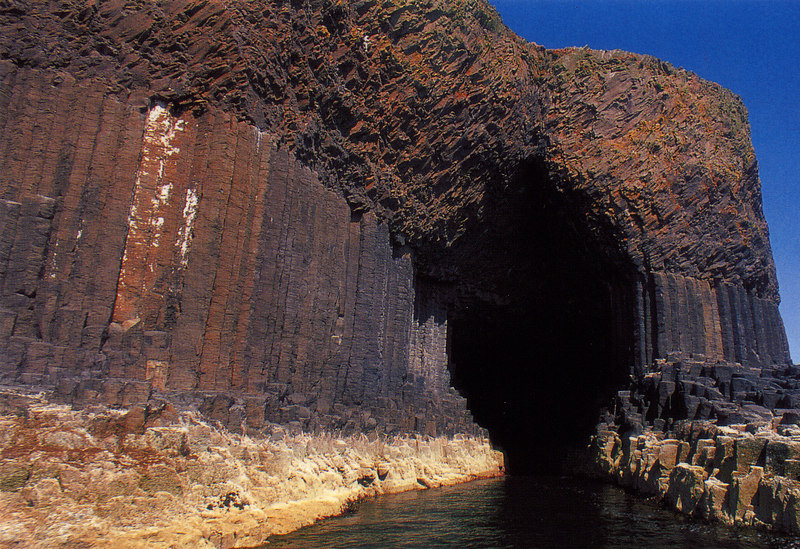 Fingal's Cave.