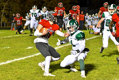 MS Clare vs Reed City District Football