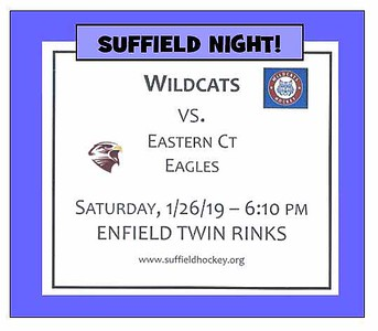 2019_01_26 Wildcats vs Eagles SUFFIELD NIGHT