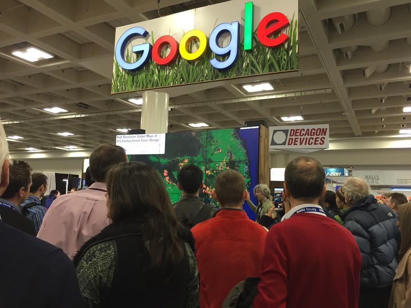 Google展區展出歷年森林變遷分析結果.jpg