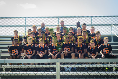 Clark MS Football and Volleyball Team Shots