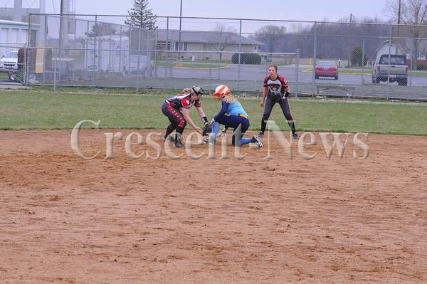 04-16-15 Sports Hicksville @ Ayersville SB